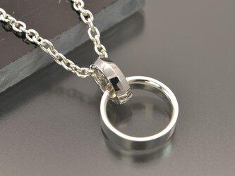 大切な指輪をネックレスにできる「リングホルダー」(SV925)の画像