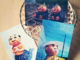 ポストカード 『夏』3枚セットの画像