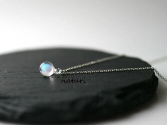【pianeta】glass opal necklaceの画像