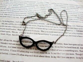 【ざーますメガネ】 ネックレスの画像