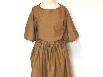 綿ローンギャザースカートの画像