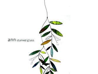 ステンドグラス グリーンワンG170811G1の画像