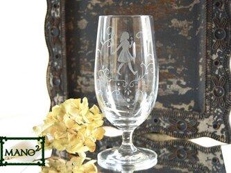 アリスのビールグラスの画像
