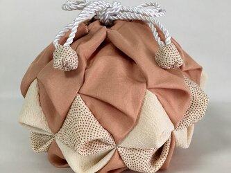絹手毬 其の六「夕焼」の画像