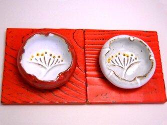 紅梅白梅豆皿Bの画像