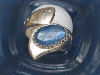 カイヤナイトのリングの画像