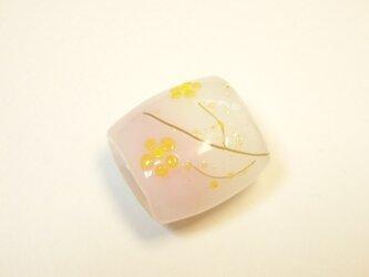 とんぼ玉*お花しりーず帯留めの画像