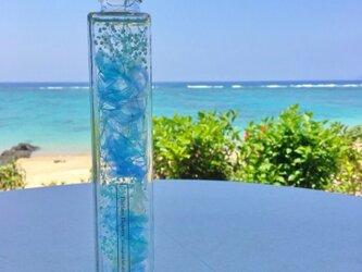 Long Luxury Blue 紫陽花〜ハーバリウム〜の画像
