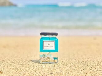 sea luxury aroma candleの画像