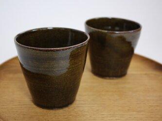 飴釉フリーカップの画像