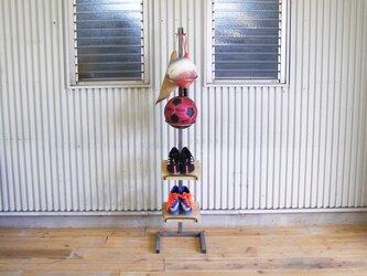 ボールキーパー付きシューラック・サッカー、フットサル、ドッジ、バスケット、バレーなどの球技ジュニアにも!の画像