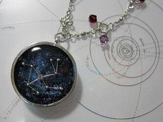 天窓の星バッグチャーム・うさぎ座の画像