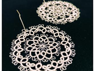 銀のタティングレース Circlesの画像