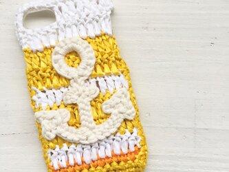 iPhoneケース/ビタミンマリン《麦わらフォン》の画像