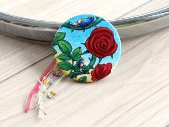 バラの薫り_c缶バッジの画像