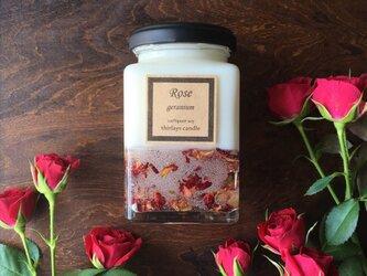 薔薇の時間 natural soy candleの画像