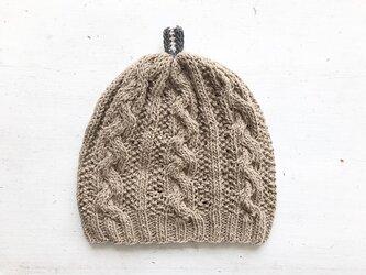 コットン帽子point[カフェオレ]の画像