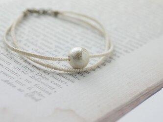 cottonpearl braceletの画像
