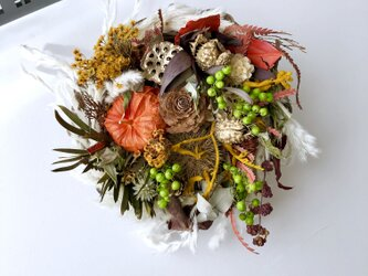 Dryflower  autumn arrangeの画像