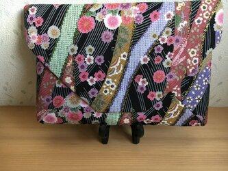 四季花模様 数寄屋袋の画像