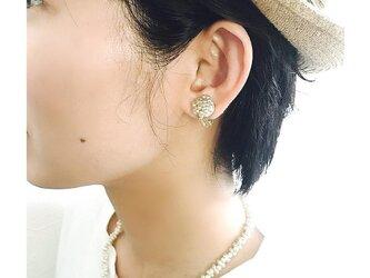 tsubu tsubu silverイヤリング(蝶バネ)の画像