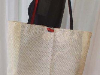 絹 絽の名古屋帯から大きめショルダーの画像