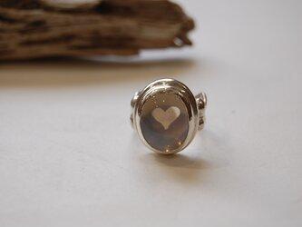 ムーンクォーツの指輪 [SILVER950]の画像