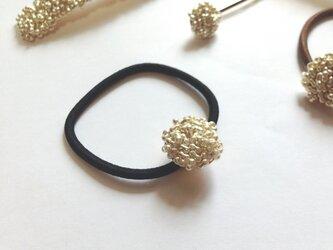 tsubu tsubu silver ヘアゴム(black)の画像