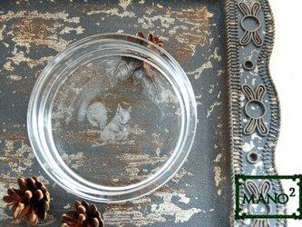 森の子リス皿の画像