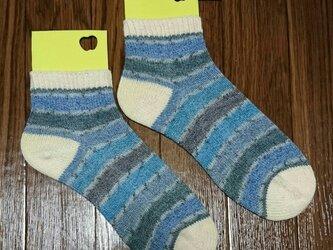 手編み靴下 ラナグロッサ 6104の画像