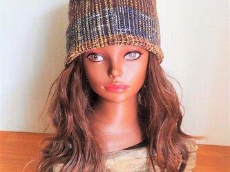 【SALE】CAP:Thai cotton - dark brownの画像