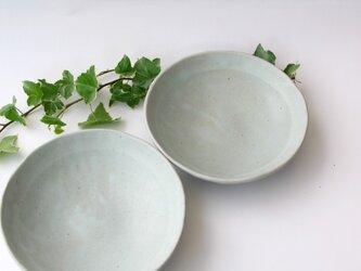 ほわーんと二色の皿(フラット)の画像