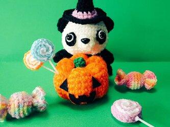 あみぐるみ✩パンダさん Halloweenver.の画像