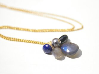 Gibeon隕石×labradorite*Necklaceの画像