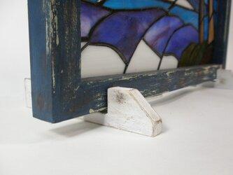 ステンドグラスパネル用脚(スタンド)Lサイズの画像