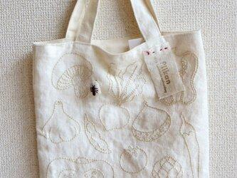 【受注生産】お野菜手刺繍トートバックの画像
