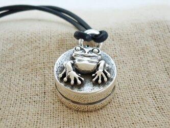 『無事カエル』の鈴 銀製(シルバー925)の画像