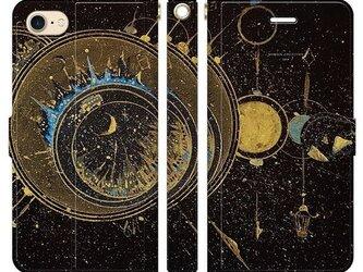 古代都市の街 iPhoneケース手帳型の画像