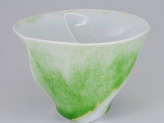 ラセンカップ・黄緑の画像