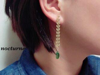 【14kgf】autumn leaf chain pierceの画像