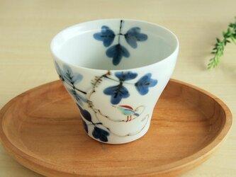 錦鳥とシダ模様 新煎茶の画像
