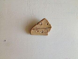 ブローチ チーズの画像