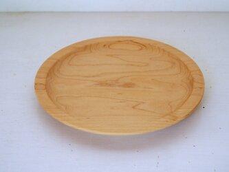 メイプル平皿の画像