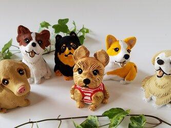 オーダーメイドであなたの愛犬を作ります(陶器)の画像