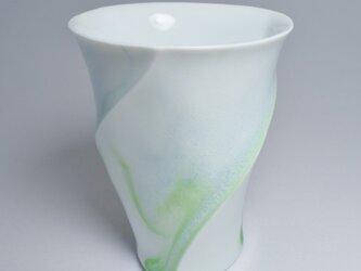 ラセンフリーカップ・小・水色の画像