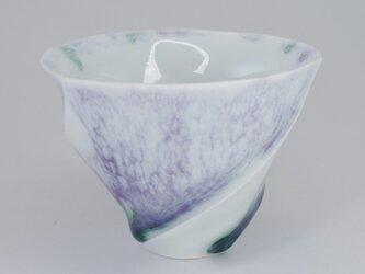 ラセン酒杯A・紫の画像