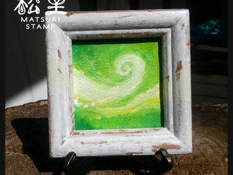 蓄光絵画「春風」(原画)の画像
