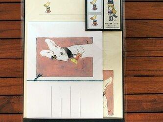 レターセット『帽子屋うさぎと檸檬鳥』の画像