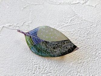 木の葉のブローチ(E)の画像