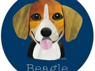 ビーグル《犬種名ステッカー/小型犬》の画像